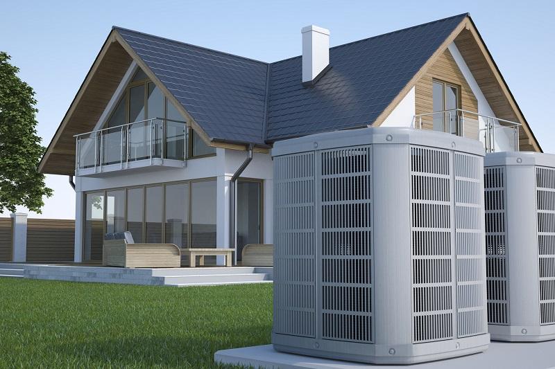 dom i pompa ciepła